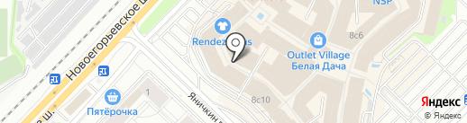 Petek на карте Котельников