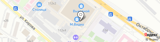 М.Видео на карте Люберец