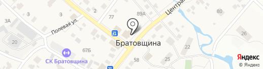 Мясная лавка на карте Братовщиной