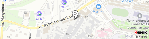 Автомойка на карте Старого Оскола