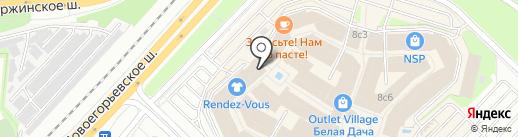 Hugo Boss Store на карте Котельников