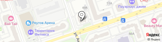 Проект-Сервис Групп на карте Реутова