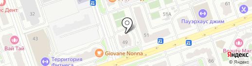 Веселая Затея на карте Реутова
