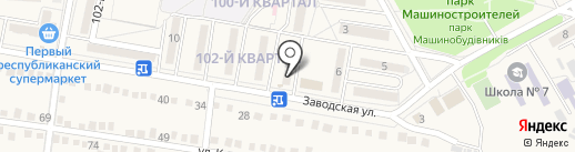 Ясиноватская центральная библиотека для детей на карте Ясиноватой