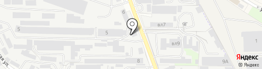 Паллор на карте Реутова