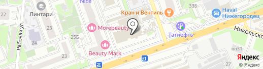 Ликарион на карте Реутова