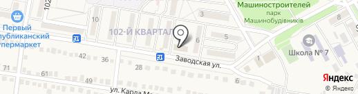 Салон-магазин, СПД Платошина И.Н. на карте Ясиноватой