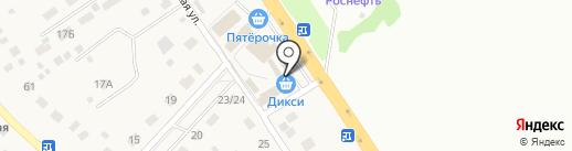 Дикси на карте Вельяминово