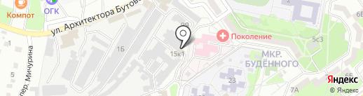 МагВОЛ на карте Старого Оскола