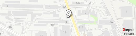Акрихимфарм на карте Реутова