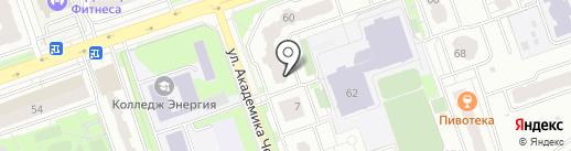Ателье на карте Реутова