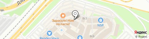 Винни на карте Котельников
