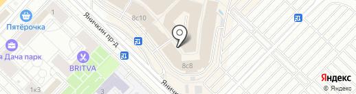 Furor на карте Котельников