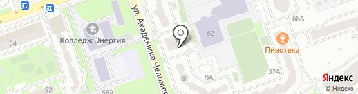 Йога Здесь на карте Реутова