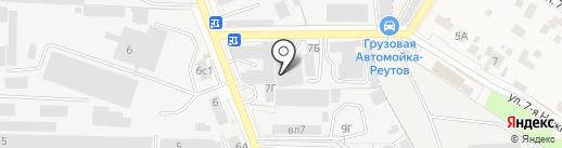 Максимум-НН на карте Реутова