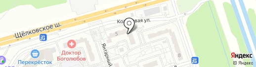 МПБ на карте Балашихи