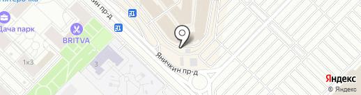 Subway на карте Котельников
