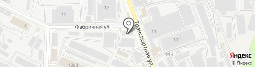 Химпромторг на карте Реутова