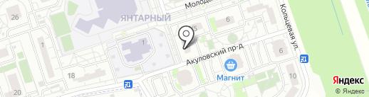 Балашихинское межмуниципальное управление МВД России на карте Балашихи