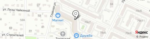 Пастель на карте Королёва