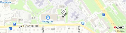 Текспро на карте Старого Оскола