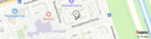 Магазин кондитерских изделий на карте Балашихи