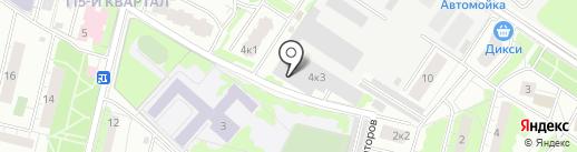 АйТи Ударник на карте Люберец