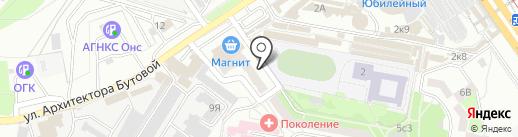 Электрон сервис на карте Старого Оскола