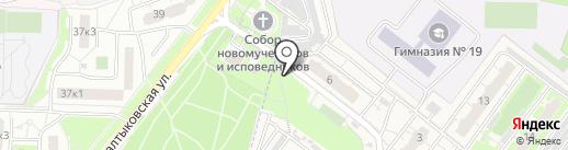 ЦВЕТОЧНЫЙ 24 на карте Балашихи