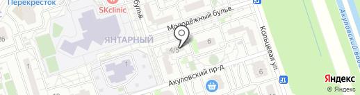 Почтовое отделение №143906 на карте Балашихи