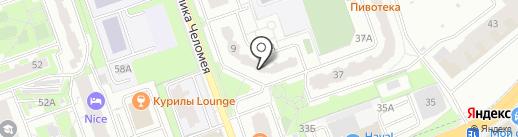 Национальная почтовая служба на карте Реутова