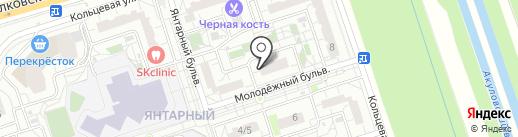 Киоск хлебобулочных изделий на карте Балашихи
