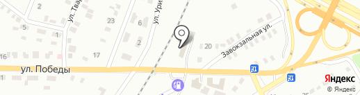 Автоцентр на карте Макеевки