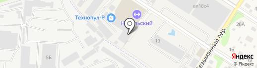 Технопул-Р на карте Балашихи