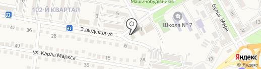 Восток на карте Ясиноватой
