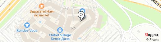Via Milano на карте Котельников