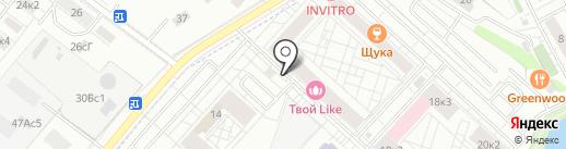 Керамзит на карте Люберец
