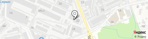 КАМИ на карте Реутова