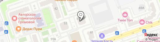 АллМед на карте Реутова