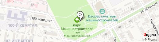 Свято-Владимирский храм, г. Ясиноватая на карте Ясиноватой