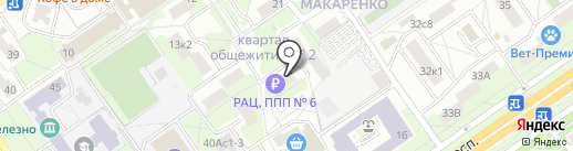 ЖЭУ №6 на карте Старого Оскола