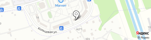На Кольцевой на карте Балашихи