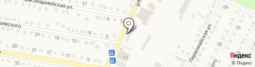 Полтинник на карте Ясиноватой