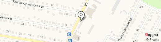 Рубин на карте Ясиноватой