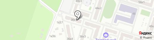 Театральный парк на карте Королёва