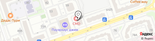 Шик и Лен на карте Реутова