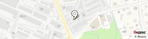 ЭКО на карте Реутова