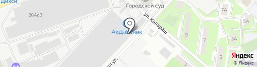 КОЖЗАМ.РУ на карте Люберец