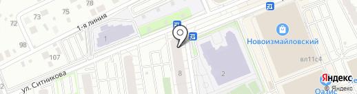 СИЛУЭТ на карте Балашихи