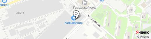 М-базис на карте Люберец